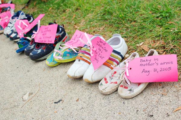 Code Pink Walk In Their Shoes